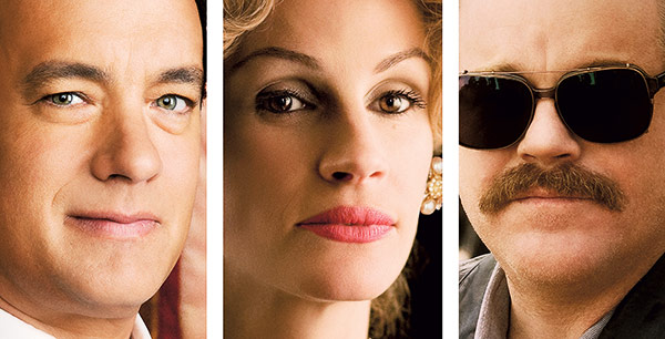 Tom Hanks, Julia Roberts a Philip Seymour Hoffman