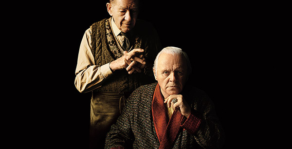 Ian McKellen a Anthony Hopkins